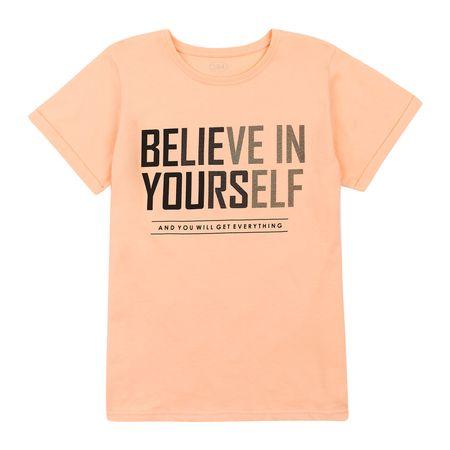 Garnamama koszulka chłopięca 122 pomarańczowy