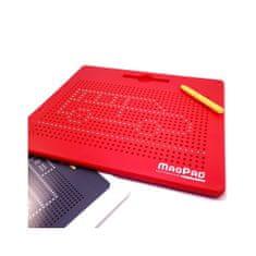 MagPad Magnetická kreslící tabulka MAGPAD Big 714 kuliček - Červená