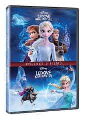 Ledové království - Kolekce 1+2 (2DVD) - DVD