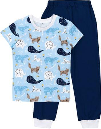 Garnamama Star fantovska pižama, modra, 134