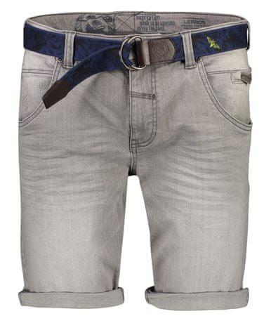 Lerros moške kratke hlače 2039213, 31, sive