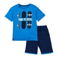 Garnamama majica i kratke hlače za dječake
