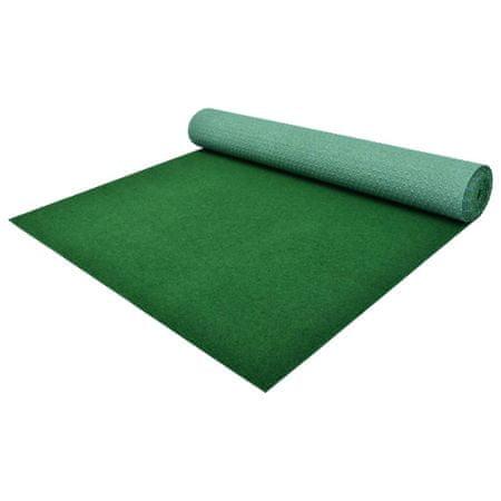 shumee Sztuczna trawa, spód z wypustkami, PP, 5x1 m, zielona