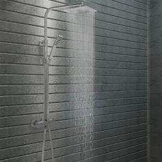 shumee Sada dvojitých sprchových hlavíc s termostatom nehrdzavejúca oceľ