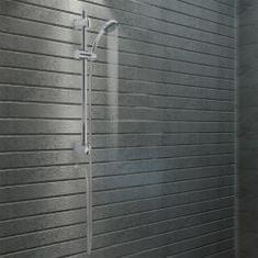 shumee Sprchová tyč s držákem na ruční sprchu 76 cm