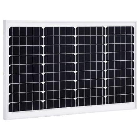shumee Panel słoneczny, 40 W, monokrystaliczny, aluminium i szkło