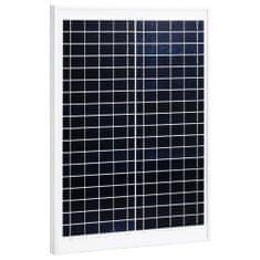 Panel słoneczny, 20 W, polikrystaliczny, aluminium i szkło