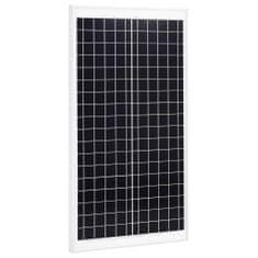 Panel słoneczny, 30 W, polikrystaliczny, aluminium i szkło