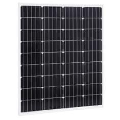 Panel słoneczny, 80 W, monokrystaliczny, aluminium i szkło
