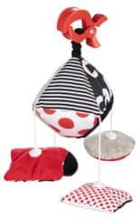 Canpol babies Kontrastná plyšová hračka s klipom Sensory