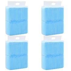 shumee Hygienické podložky pre psov 400 ks 60x45 cm netkaná textília