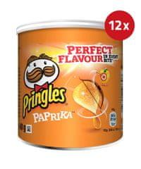 PRINGLES čips s papriko, 12 x 40 g