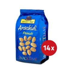 Mister Nut slani praženi arašidi, 14 x 125 g