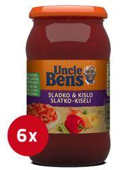 Uncle Ben's sladko-kisla omaka, 6 x 400 g