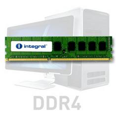 Integral 8GB RAM memorija, DDR4, 2666MHz, UDIMM, PC4-21300, CL19, 1,2V (IN4T8GNELSI)