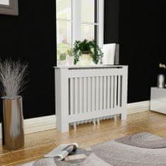 shumee Biely kryt na radiátor z MDF 112 cm