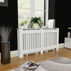 shumee Biely kryt na radiátor z MDF 152 cm
