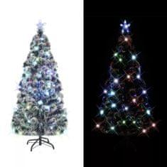 Umelý vianočný stromček, podstavec a LED 180 cm, 220 vetvičiek