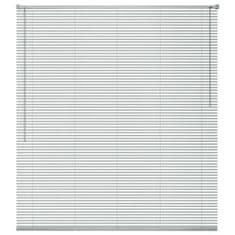 Vidaxl Okenní žaluzie hliník 60x130 cm stříbrná