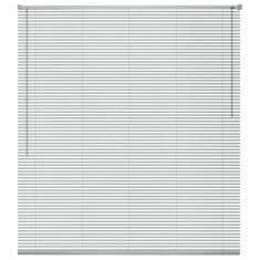 Vidaxl Okenní žaluzie 80x220 cm stříbrná
