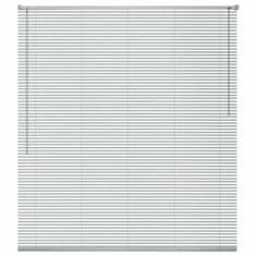 Vidaxl Okenní žaluzie hliník 100x220 cm stříbrná