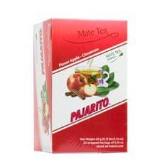 Pajarito Čaj maté - Jablko se skořicí, čajové sáčky 20x 3g
