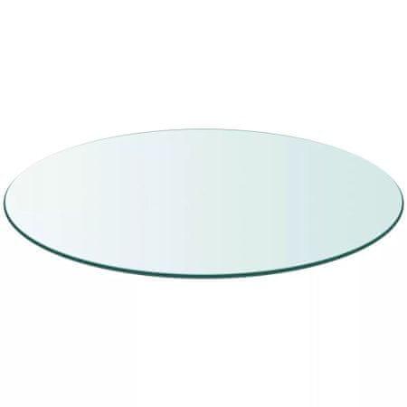 Blat stołu szklany, okrągły 500 mm