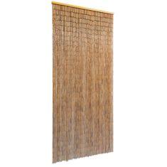 shumee Dveřní závěs bambus 90 x 200 cm
