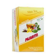 Pajarito Čaj maté - Vanilka, čajové sáčky 20x 3g