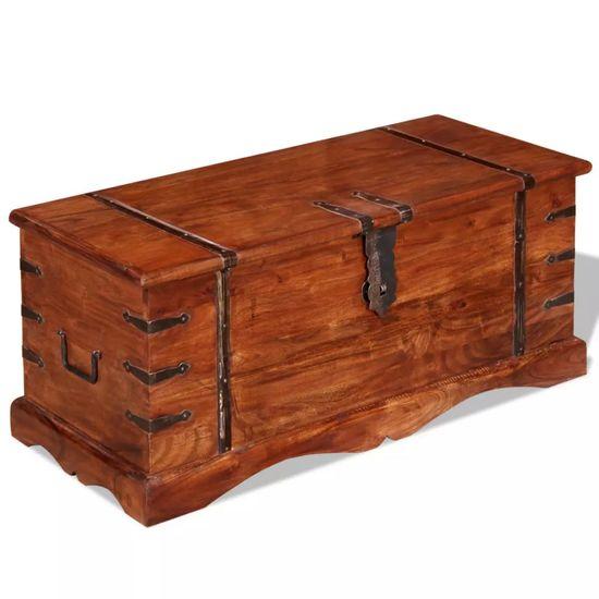Úložná truhlica z masívneho dreva