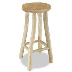 shumee Barová stolička masivní teak