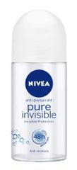 Nivea Pure Invisible antiperspirant, roll-on, 50 ml