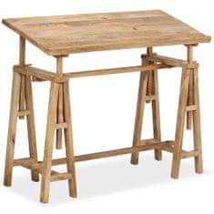 shumee Kreslicí/rýsovací stůl z masivního mangovníku 116 x 50 x 76 cm