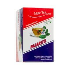 Pajarito Čaj maté Traditional, čajové sáčky 20x 3g