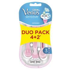 Gillette Venus Sensitive Smooth Pohotová Holítka - 6ks