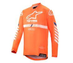 Alpinestars dres Youth Rcer Tech orange/fluo/white/blue