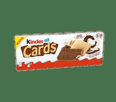 KINDER Cards 10x 128g