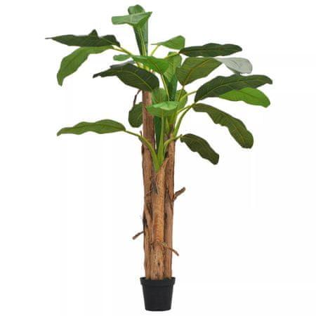 shumee zöld, cserepes műbanánfa 250 cm
