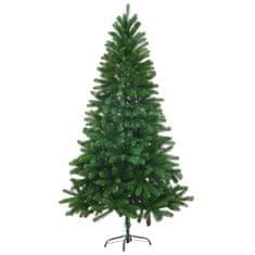 Umělý vánoční strom s velmi realistickým jehličím 150 cm zelený