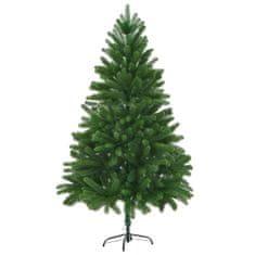 Umelý vianočný stromček, realistické ihličie 180 cm, zelený