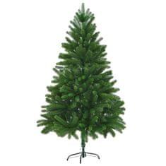 Umelý vianočný stromček, realistické ihličie 210 cm, zelený
