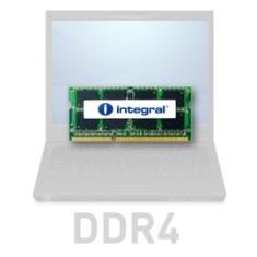 Integral 4GB RAM pomnilnik, DDR4, 2133MHz, SODIMM, PC4-17000, CL15, 1,2V (IN4V4GNCUPX)