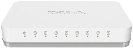 D-LINK Gigabit Ethernet GO-SW-8G Switch