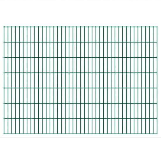 2D Zahradní plotové dílce 2008x1430 mm 12 m zelené