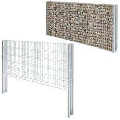 shumee 2D gabion plot pozinkovaná ocel 2,008x1,03 m 2m (celková délka)
