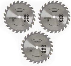 VonHaus E-Series komplet rezervnih rezil za krožno žago, 3-delni (3500176)