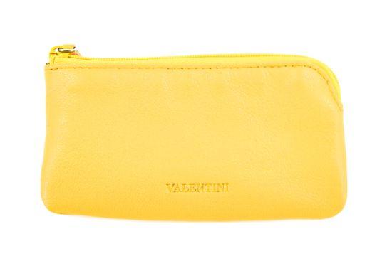 Emporio Valentini Kožená peněženka Valentini - žlutá