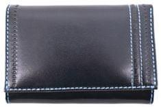COVERI Dámská kožená peněženka Coveri World - tmavě modrá