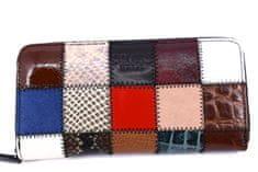 COVERI Dámská kožená peněženka Coveri World - černá