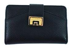 Arteddy Dámská/dívčí peněženka se zápinkou - černá